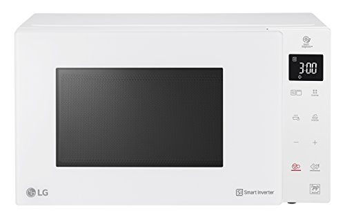 LG MH6535GIH Over the range – Microondas (Over the range, Microondas combinado, 25 L, 1000 W, Tocar, Color blanco)