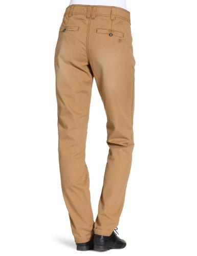 Tom Tailor Denim - Pantalon Chino - Femme Beige (Beige Caramel)