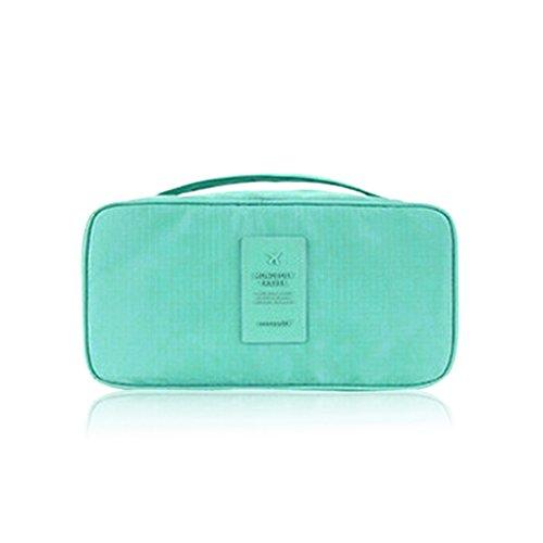 QHGstore Organisator-Beutel-Beutel-Gepäck-Unterwäsche-Wäsche-Handtasche Hellblau