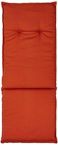 beo AU47 Barcelona HL Coussin avec bordure pour fauteuil à dossier haut 48 x 119 cm Épaisseur 5 cm
