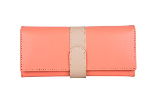 Whiteflower Peach Womens Wallet