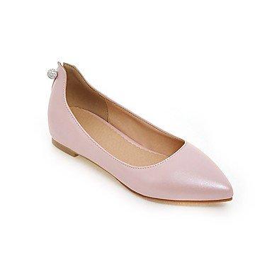 Confortevole ed elegante piatto scarpe donna Appartamenti Primavera Estate Autunno altri PU Office & Carriera Abbigliamento Sportivo tacco piatto altri Nero Blu Rosa Rosso Bianco Pink