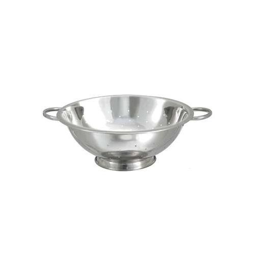 Winco COD-14 Stainless Steel Colander with Base, 14-Quart by Winco - 14 Quart Colander