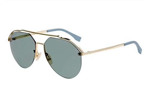 Fendi Sonnenbrillen Fancy FF M0031/S Gold/Green Herrenbrillen