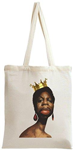 nina-simone-crown-tote-bag