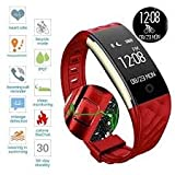 Torus Pro S2 Red Dynamic Heart Rate Monitor Activity Tracker and Fitness Watch