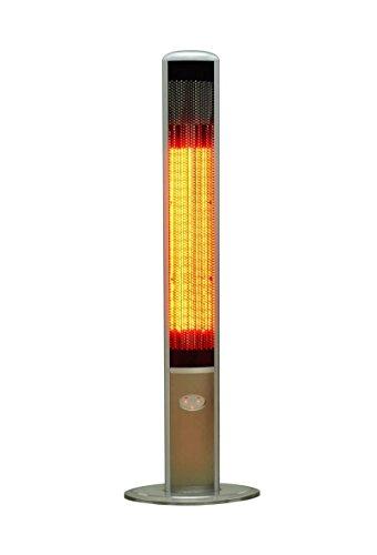 OutTrade Elektrische Heizung Slimline, Grau, 160 cm