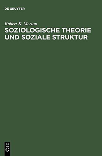 Soziologische Theorie und soziale Struktur