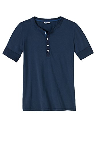 maglietta-da-uomo-karl-heinz-a-maniche-corte-blu-nero-50