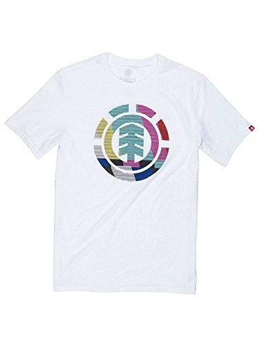 Herren T-Shirt Element VHS T-Shirt Optic White