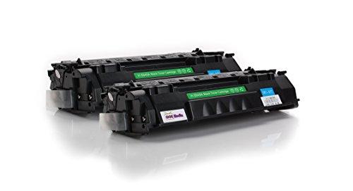 Toner Twin Pack kompatibel zu HP 49A / Q5949A | 2x Schwarz...