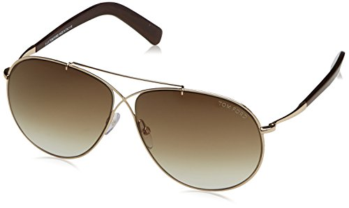 Tom Ford Sonnenbrille FT0374_28F (61 mm) Plateado, 61