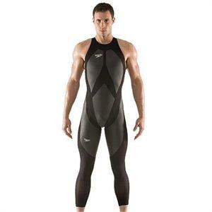 Two Speedo Fastskin LZR Racer Swimwear LLO Male Mens Swimsuit. -