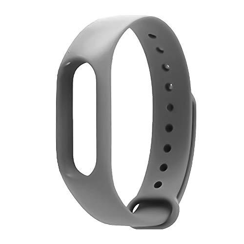 Sguan-wu Ersatz-wasserdichtes mehrfarbiges Uhrenarmband für M2 Smart Bracelet - Grau