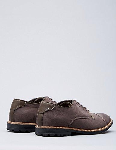 FIND Herren Derby Schuhe Grau (Grey)