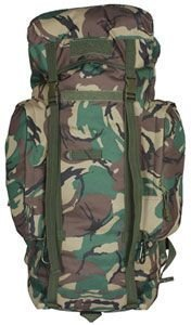British DPM Camouflage Rio Grande Travel Pack 45 Liter - 25 x 13 x 12 Inches, Backpackers Backpack Bag by Outdoor Shopping