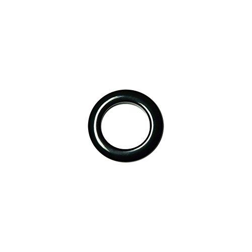 Oeillets à Clipser pour Rideaux Coloris Noir - diamètre 28 mm - Lot de 8