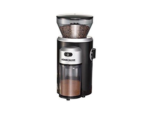 Rommelsbacher EKM 300 Kegelmahlwerk - Kaffemühle, 150 W, schwarz / silber
