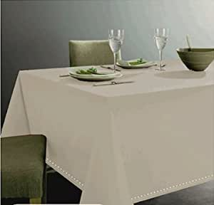 Tovaglia color grigio in 100 cotone per tavolo da 12 - Tavolo 12 persone ...