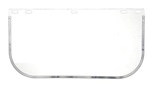 Portwest PW99CLR Series PW99 Replacement Shield Plus Visor, Regular, Clear