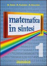 Matematica in sintesi. Per le Scuole superiori: 1