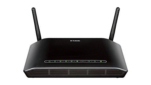 D-Link DSL-2751/E Wireless N300 Modemrouter (ADSL2+, RJ-11, 300Mbps, USB 2.0), Annex B und J (N300 Router Wireless Dlink)