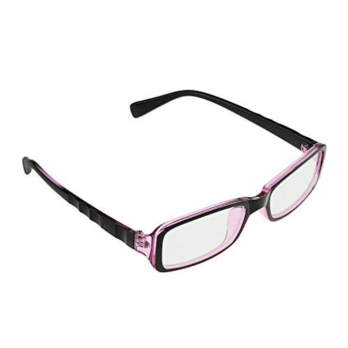 Klassische Nerd Brille oder als Sonnenbrille Wayfarer Brille Dekogläser Anti-Strahlung Brillen für...