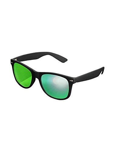 Masterdis Mstrds Shades Likoma Mirror Sunglasses UV400 Occhiali da Sole Specchiati Colore black/green