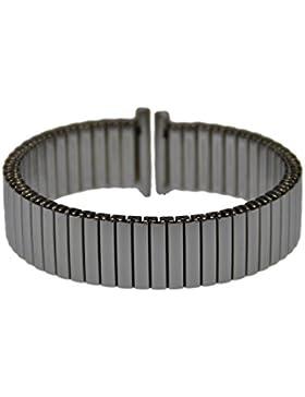 Rowi Fletch Zugband 14mm Uhrenarmband Edelstahl Flex Armband Uhr Band 392971