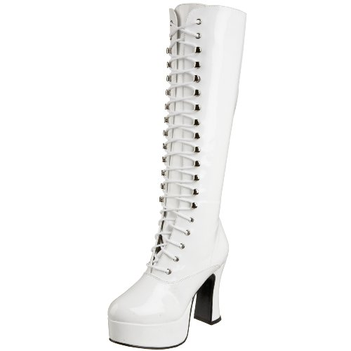 70 Hot S Kostüm - Pleaser  Exo2020,  Damen Stiefel , Weiß, EU 39 (UK 6 / US 9)