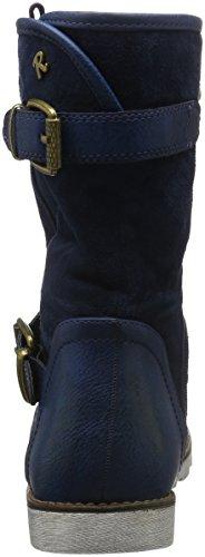 Refresh - 62233, Stivali a metà polpaccio non imbottiti Donna Blu (Blu navy)