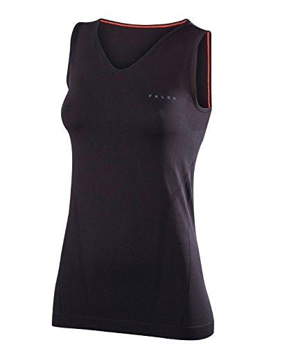 FALKE Damen Unterwäsche Warm Singlet Comfort, Black, M