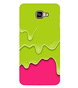 Vizagbeats Drainig colors Back Case Cover for SAMSUNG GALAXY A9