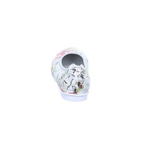 Rieker Damen 43075 Geschlossene Ballerinas Mehrfarbig (Ice-Multi)