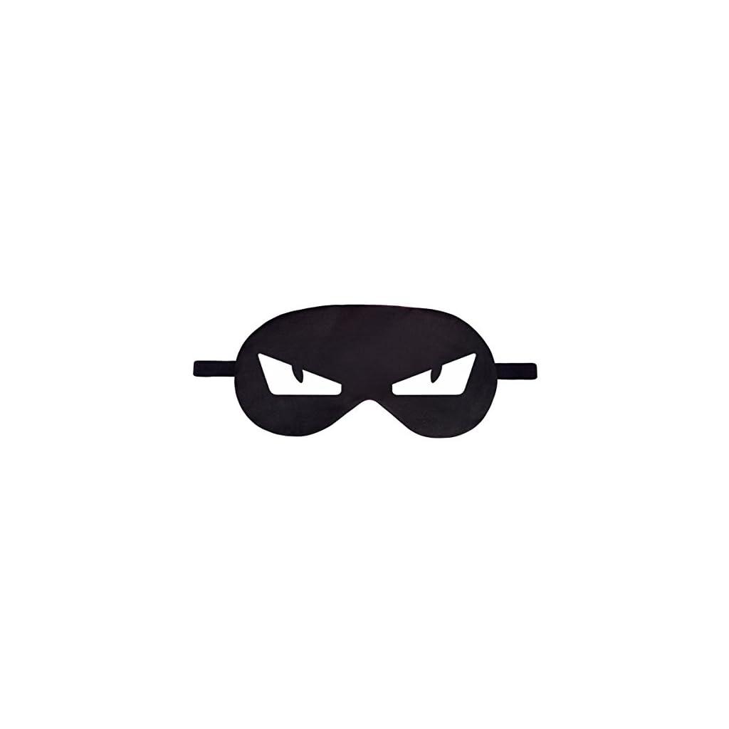 Masque de Sommeil de Voyage Relax Lit Yeux Couverture Emoji Siestes Noir Va Te Faire Foutre Fuck Off 042