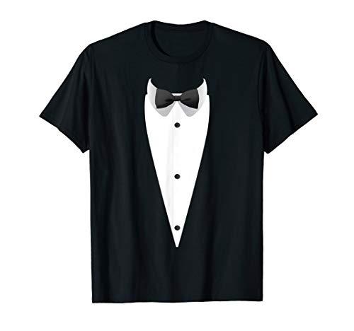 Tuxedo mit Fliege für Hochzeiten T-Shirt -