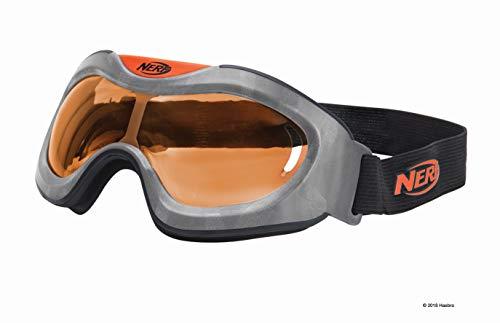 lle Orange11559 hochwertige Brille mit größenverstellbaren Riemen im sytlischen Nerf Elite Design, für actionreichen Spielspaß ()