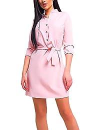110932c6e15e Targogo Camicia Vestiti Donna Elegante Autunno Camicette Vestono Collo  Coreana Manica L