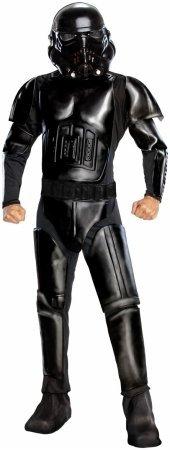 Shadow Trooper Deluxe Herrenkostüm aus Star Wars, Größe:XL (Storm Shadow Kostüm)