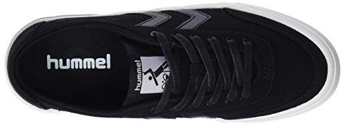 Hummel Unisex-Erwachsene Stockholm Low Sneaker Schwarz (Black)