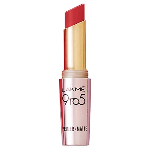 Lakme 9 to 5 Primer with Matte Lip Color, MR11 Berry Base, 3.6g
