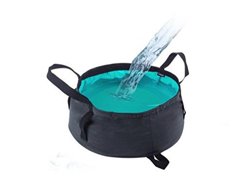 CFtrum 8,5L Outdoor Sports Bewegliches Faltbares Waschbecken Wassereimer für Kampierende #2