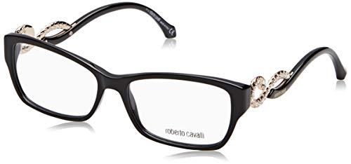 Roberto Cavalli Brillengestelle (Roberto Cavalli Damen Rc0937 001-55-15-140 Brillengestelle, Schwarz, 55)