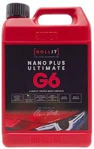 Gollit Nano Plus Ultimate 1000 Ml Nanoversiegelung Für Auto Boot Und Caravan Lotoseffekt Autopflege Lackversiegelung Mit Nanotechnologie Neue Rezeptur Keine Weißen Rückstände Auf Kunststoff Und Gummiteilen Mehr Made In