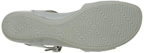 ECCO Touch 25 S, Scarpe Col Tacco con Cinturino a T Donna Bianco(White/White 50874)