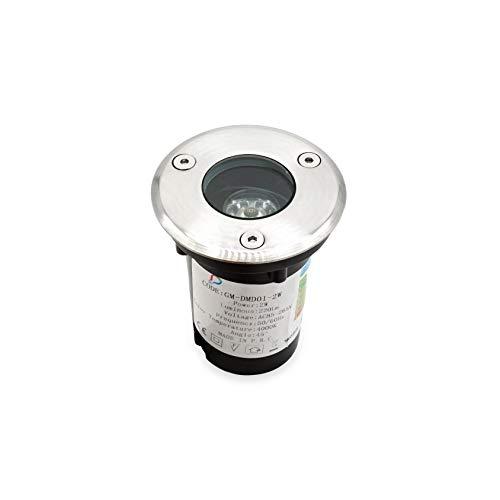 GRG® Foco LED 1W luz blanca natural fría 4000 K, para colocar...