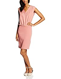TOM TAILOR Damen Kleid Fabric Mix Dress