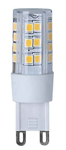 Star 344-09 Éclairage LED, Plastique, G9, 33 W, Transparent, 1.1 x 1.1 x 3.3 cm