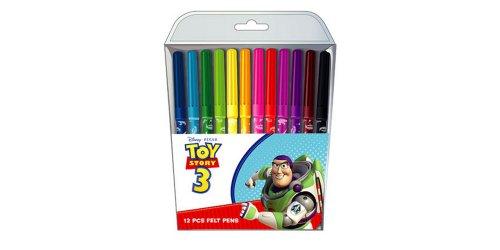 Ninety Nine - Pochette de 12 Feutres Toy Story