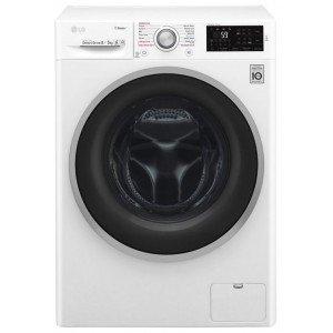 LG F4J6TG1W Autonome Charge avant A Blanc machine à laver avec sèche linge - machines à laver avec sèche linge (Charge avant, Autonome, Blanc, Gauche, Rotatif, toucher, LED)